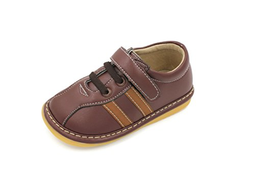 Toddler Shoes | Squeaky Brown Sneakers Toddler Boy