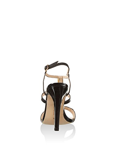 CAFèNOIR Lc002 - Sandalias de tacón Mujer Negro