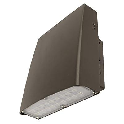 FEIT S9AJWPK/850/BZ 3300 Lumen 5000K LED Adjustable Wall Pack, 120-277V - BRONZE FINISH