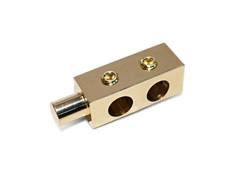 Stetsom STT 02 Pair of Gold Polished Terminals [並行輸入品] B076CP7MSJ
