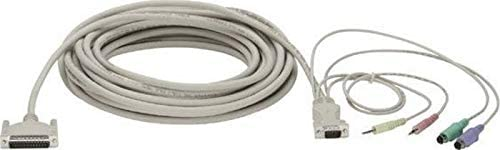 Black Box Network Services Servswitch USB Coax CPU Cable 10-ft. 3
