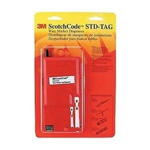 3m Scotchcode Wire Marker Tag Tape Dispenser