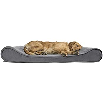 Amazon.com: FurHaven Pet Dog Bed | Deluxe Orthopedic Ultra
