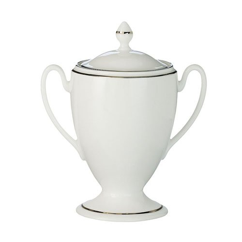 Waterford China Kilbarry Platinum Covered Sugar