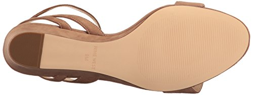 Pictures of Nine West Women's Lewer Suede Wedge Sandal 8 M US 7
