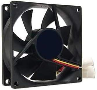 3GO FAN8BK Carcasa del Ordenador Ventilador - Ventilador de PC ...