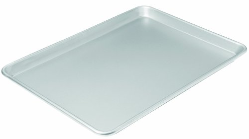 Chicago Metallic Commercial II Traditional Uncoated Large Jelly Roll Pan, 16-3/4 by 12-Inch - Heavyweight Roast Pan