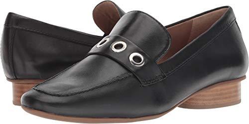 Bernardo Women's Jaden Loafer Black Leather 6 M US M