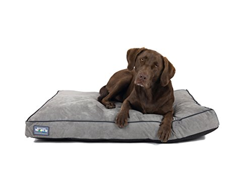 First-Quality 5' Thick Orthopedic Dog Bed | Pure Premium Memory Foam | Ideal for Aging Dogs |...