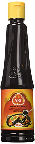 Kecap Manis (Sweet Soy Sauce) - 600 ml(20.2-Ounce)by ABC. (Soy Asian Sauce)