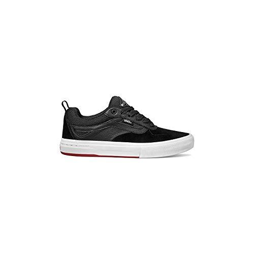 Vans Men's Kyle Walker Pro Skate Shoe (Black/Red, 7.5 Men M US)