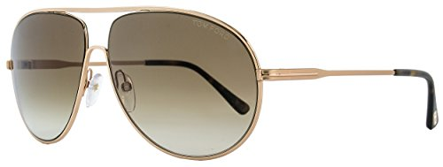 Tom Ford FT0450 Cliff 28F - Shiny Rose Gold - Tom Ford Retail