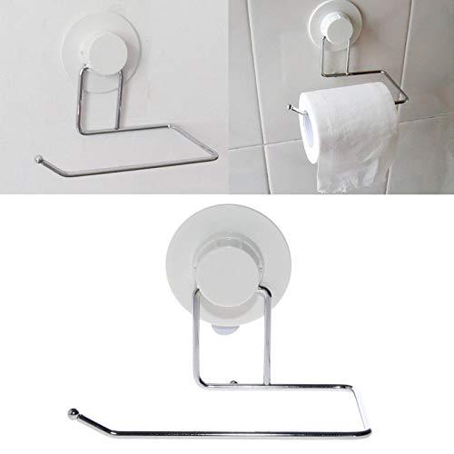 Agordo Toilet Paper Holder Bathroom Suction Hanger Tissue Rack Kitchen Towel - Northwood Toilet Holder Paper