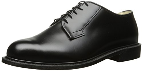 Bates Men's Navy Premier Oxford Uniform Dress Shoe - Blac...