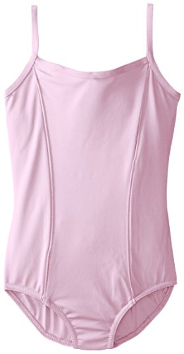Capezio Big Girls' Children's Collection Camisole Leotard, Pink Flowers, Large