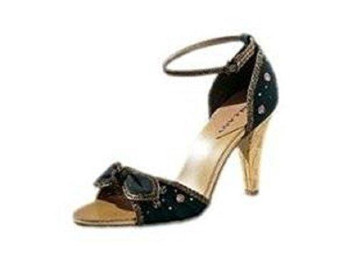 CHILLANY Women's Sandaletten Fashion Sandals Black - Black Lsb326p0