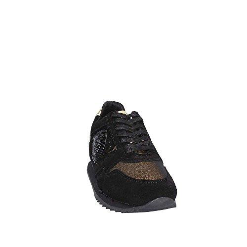 Blauer USA 7FMADISON02/GLI Sneakers Femme BLK/GOL BLACK/GOLD 40