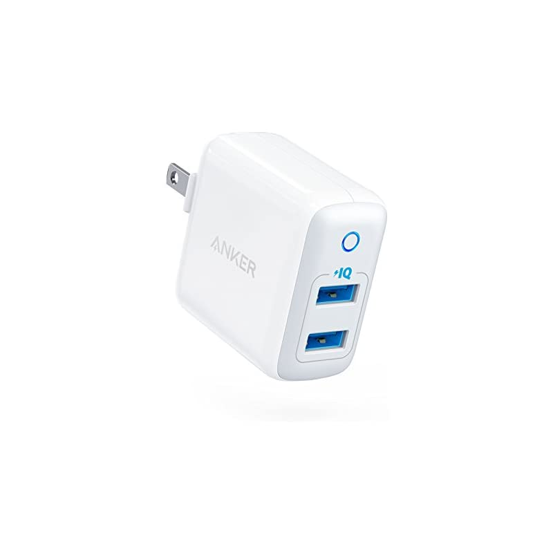 Anker Dual USB Wall Charger, PowerPort I