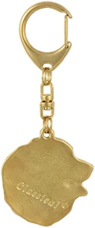 ArtDog Dog Keyring in Casket Key Holder Bernese Mountain Dog Limited Edition