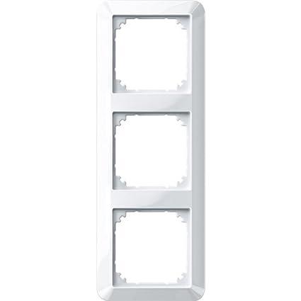 1fach polarwei/ß gl/änzend 1x 1 Merten 389119 1-M-Rahmen