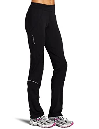 Brooks Women's Utopia Thermal Pant,Black,Medium