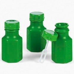 Fun Express Mini Hexagon Green Bubble Bottles (4 (Green Bubbles)