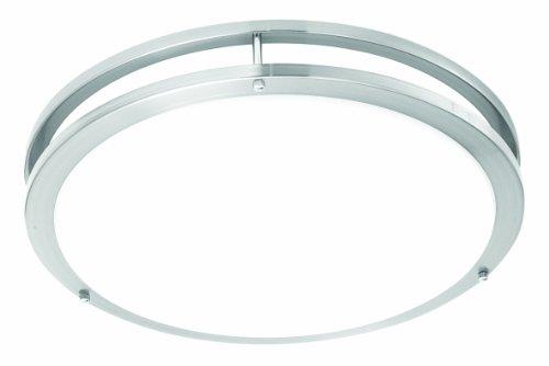 1 Thomas Lighting Flush Mount - Thomas Lighting TD0004217 Parallel Led Ceiling Fixture, Brushed Nickel