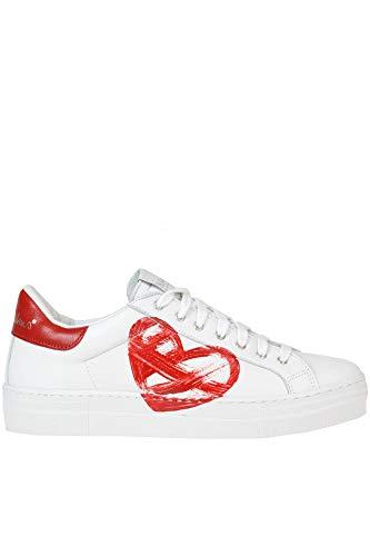 Zapatillas Blanco Cuero Mujer Mcglcak000005040e Nira Rubens wxqv1wU