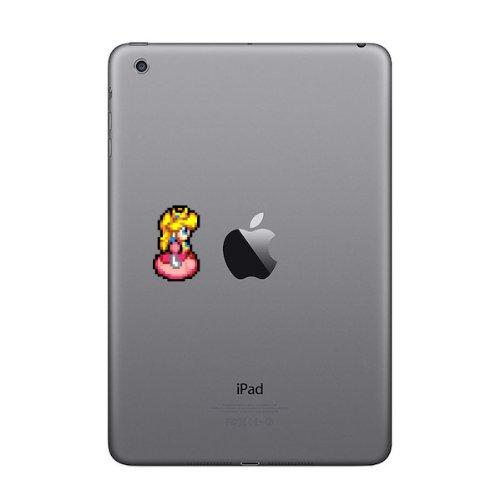 Retro Decal Princess Peach (Pose) 8 Bit Decal