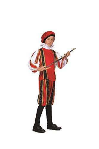 Child Renaissance Peasant Boy Costume - Large -