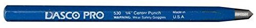 Dasco 530 4-Inch by 3/16-Inch High Carbon Steel Center Punch (530 Carbon)
