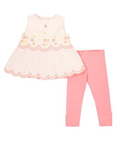 Monsoon Baby girl Baby Floris Blouse and Legging Set Size 18-24 Months Pink