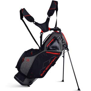 (Sun Mountain 2019 4.5 Ls Stand Bag Black/Red)