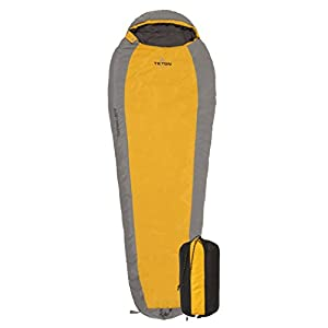 TETON Sports TrailHead Ultralight Mummy Sleeping Bag Lightweight Backpacking Sleeping Bag For Hiking And Camping Outdoors All Season Mummy Bag Sleep Comfortably Anywhere Compression Sack Included