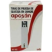 Aposán TIRAS GLUCOMETRO 10 UNIDADES APOSAN