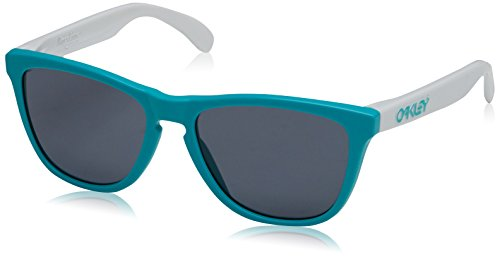 Oakley Unisex Heritage Frogskins Sunglasses, Seafoam/Grey, One - Collection Heritage Oakley