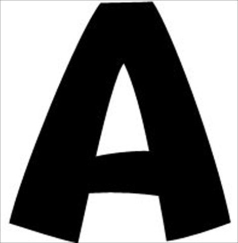 Uppercase And Lowercase Playful Decorative Letter44; 4 In. - Black - Trend Enterprises 080046