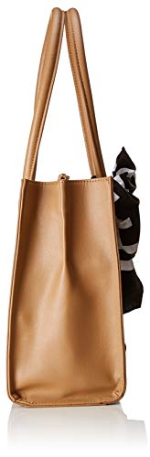 Cammello Borse Pu Borsa Soft Marrone Grain Donna Tote Moschino Love SzqRg