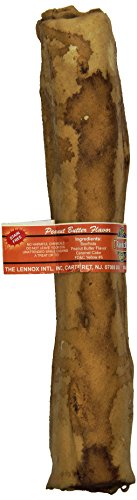 The Rawhide Express Peanut Butter Retriever Roll Dog Chew, 9 By 10-Inch