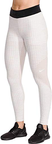 NIKE Women's Pro Hyperwarm Training Tights (Desert Sand, Large)
