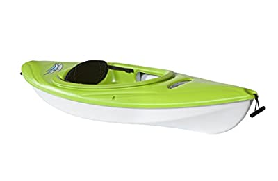 KIA08P104-00 Pelican Sprint 80X Kayak, Lime Green/White by Pelican  International, Inc