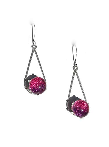 - Classy Glass by Sheri Berry Mixture Sterling Silver Earrings