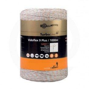 Vidoflex 9 TurboLine 1000m weiß Gallagher