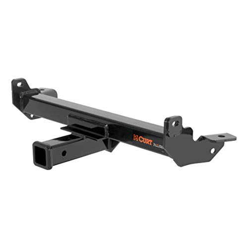 CURT 31108 Front Hitch with 2-Inch Receiver, Fits Select Chevrolet Silverado, Suburban, GMC Sierra, Yukon XL ()