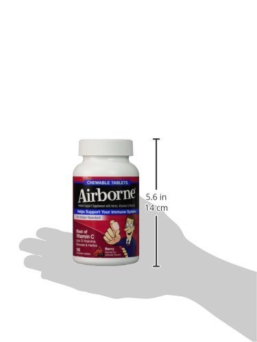 Airborne Immune Support Chewable Berry Tablets GreatQuality 2Pack (116 Count Each ) by Airborne (Image #6)