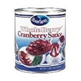 Cranberry Whole Sauce, no. 10 Can -- 6 Per Case