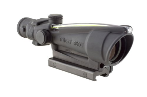 Trijicon ACOG 3.5 X 35 Scope Dual Illuminated Chevron .308 Ballistic Reticle, Amber