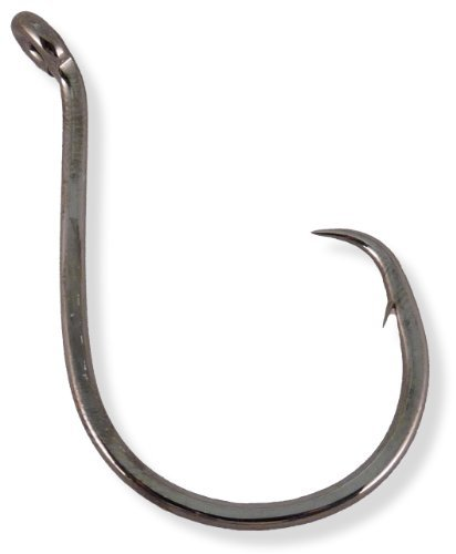 Owner American Corp SSW Circle Hook Up Eye 7/0 Blk Chrome Pro Pack 27per pk #5378-171