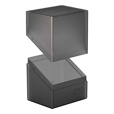Ultimate Guard Boulder Deck Case 80+ Std. Size Onyx: Toys & Games