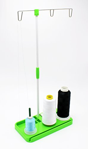 Buy Cheap 3 Spool Thread Stand Holder for Embroidery, Sewing, Quilting, Serger Machines by ThreadNan...